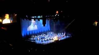 Andrea Bocelli singing White Christmas (Live)