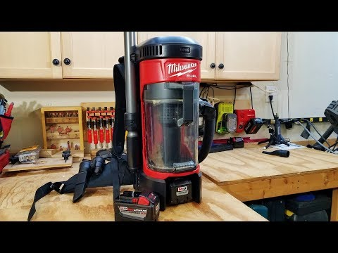 M18 FUEL 3 in 1 Backpack Vacuum Review
