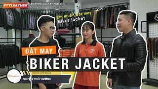 Hoàng Tuấn trải nghiệm may đo áo da thật tại FTT leather - Leather jacket for you tập 1