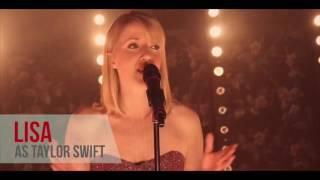 Lisa as Taylor Swift