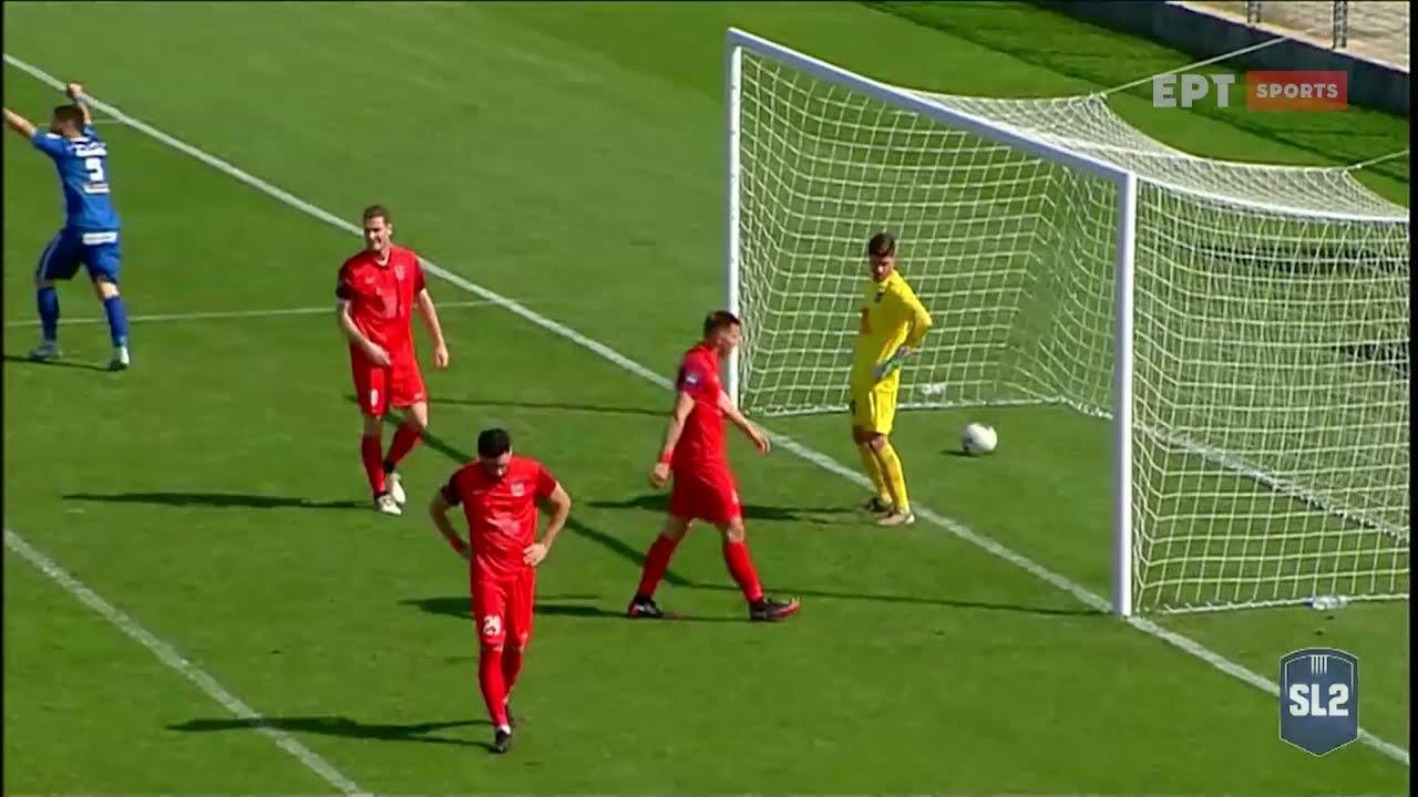 Super League 2 | Χανιά – Διαγόρας 1-0 | ΓΚΟΛ | 03/04/2021 | ΕΡΤ