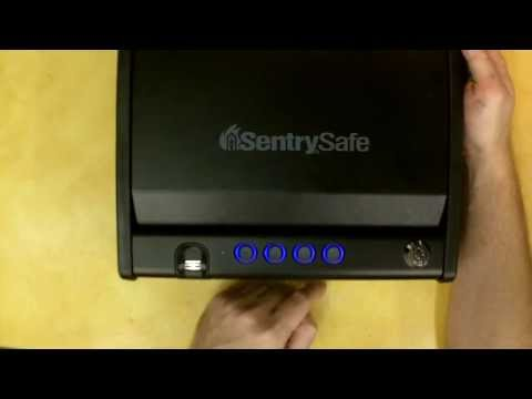 Sentry Quick Access Biometric Pistol Safe Review. Model QAP1BE