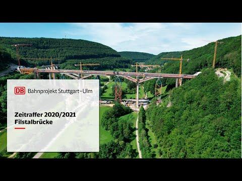 Filstalbrücke – Zeitrafferfilm 2020/2021