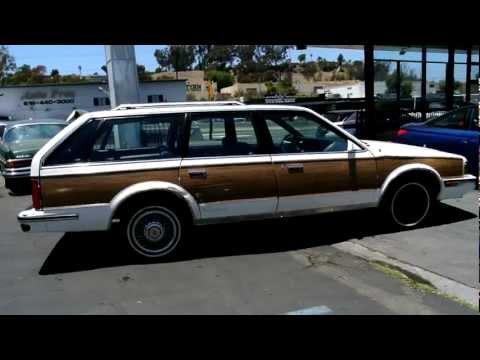 1988 Oldsmobile Cutlass Ciera Cruiser Woody Station Wagon Low Miles