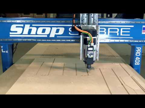 ShopSabre PRO Series Router – Dovetail Drawers with RouterBobvideo thumb
