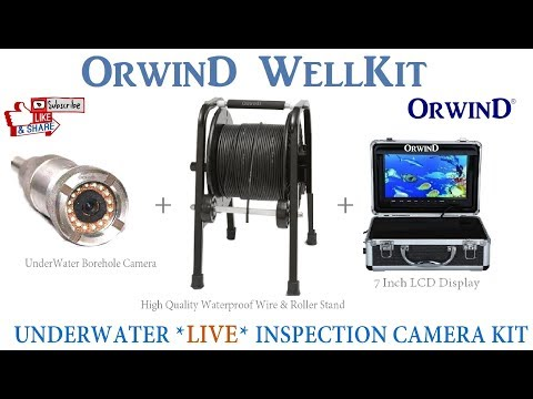 Drain And Pipe Inspection Camera