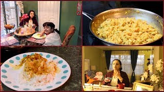 Thursday Vlog 2019 : Indian Simple Lunch To  Dinner  Preparation Routine