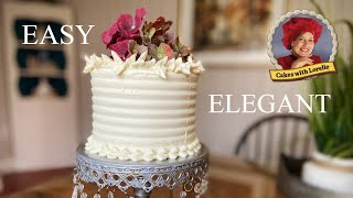 Leaf Tip Cake Decorating 🍃 Best Cake Decorating Tips 😍 Cakes With Lorelie