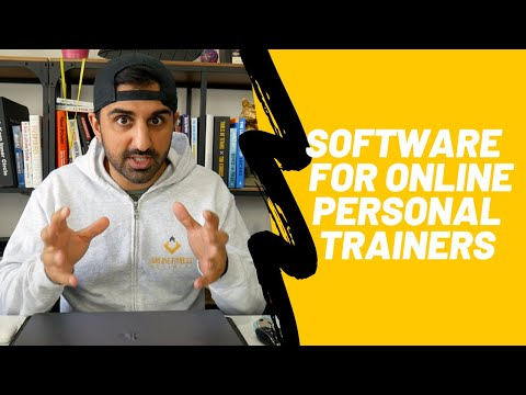 Personal trainer software - For Online Personal Trainers