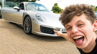 BUYING MY DAD HIS DREAM CAR *2017 PORSCHE 911 4S* - dooclip.me