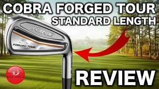 NEW COBRA KING FORGED TOUR IRONS REVIEW - Rick Shiels