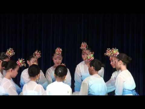 """2016년 포대보살 기념 마음 나눔 축제 불타한국학교 무용 """"달빛 아래"""""""