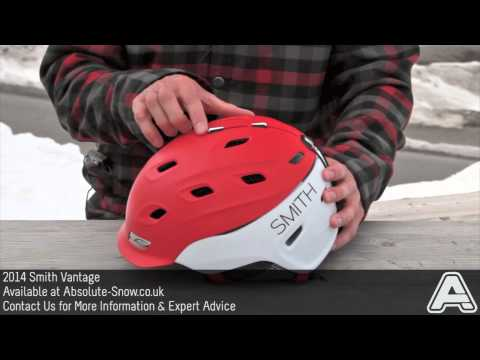 2013 / 2014 | Smith Vantage Ski & Snowboard Helmet | Video Review