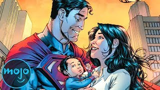 Top 10 Couples in DC Comics