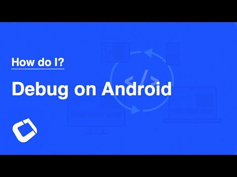 Debug a Codename One Application on an Android Device