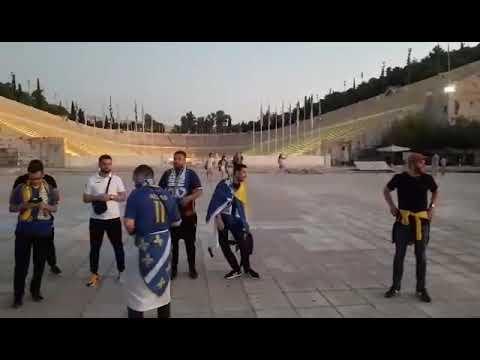 Počelo okupljanje navijača Bosne i Hercegovine u Atini