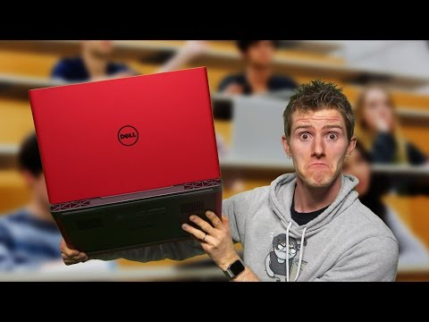 Serious Gaming Laptop for $800 – Dell Inspiron Gaming 15 2017