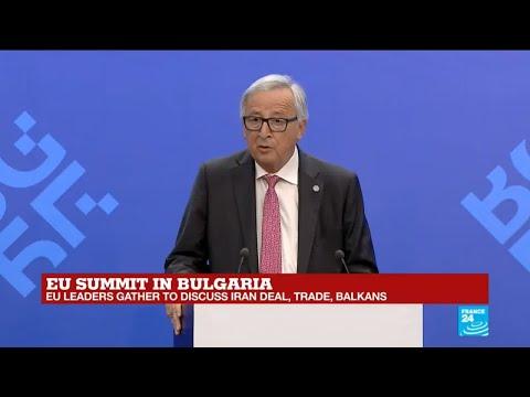 REPLAY - EU Commission president Jean-Claude Juncker