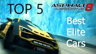 Asphalt 8: Top 5 Best Elite Cars
