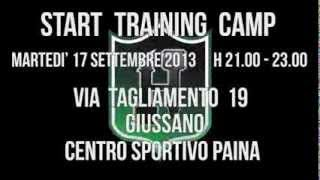 1° TRAINING CAMP - START PRESEASON 2014!