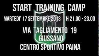 1° TRAINING CAMP - START PRESEASON 2014!
