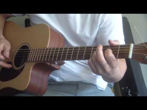 the allman brothers - midnight rider guitar lesson (chords, strumming ...