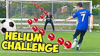 HELIUM REVERSE FOOTBALL CHALLENGE (super tele) w/ illuminati crew