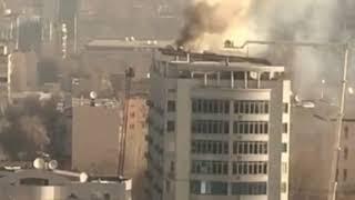 50 человек эвакуировано из-за пожара в жилом комплексе Алматы