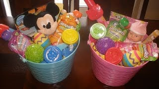 What's In Our Easter Baskets? (Toddlers Ages 1 & 2!)