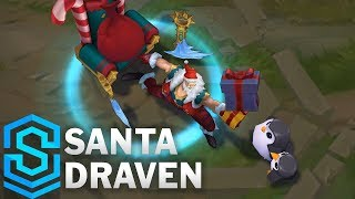 Santa Draven Skin Spotlight - League of Legends