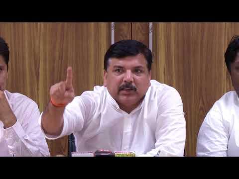 BJP Has made a Delhi Secretariat a Hub of Hooliganism