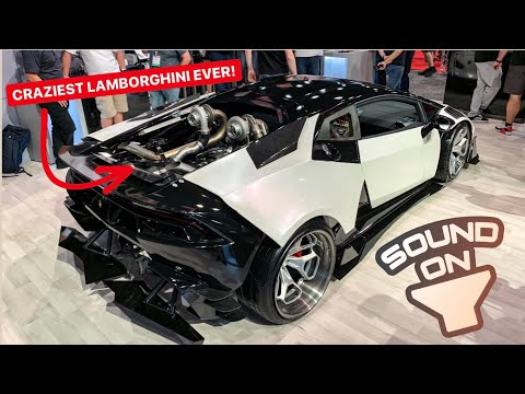WORLDS FIRST LS SWAPPED MANUAL LAMBORGHINI HURACAN! *SOUNDS INSANE*