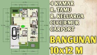 modelfuzziblog: model rumah ukuran 10x12