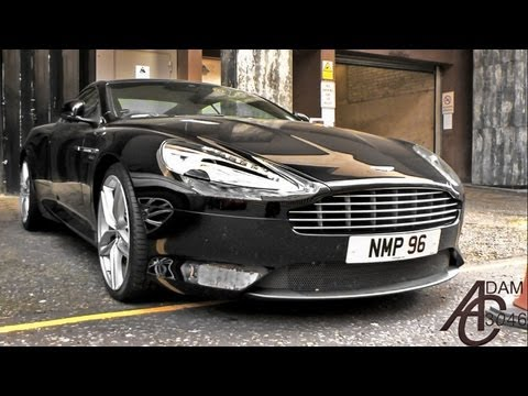 New 2013 Aston Martin DB9 in London!