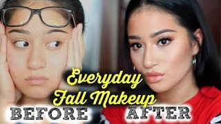 EVERYDAY FALL MAKEUP TUTORIAL 2017| GO TO FALL MAKEUP ROUTINE