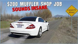 I Paid a Muffler Shop $200 to Make the Chickenhawk LOUD