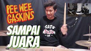 Pee Wee Gaskins   Sampai Juara (Akbar Tafsili Drum Cover) #DrumovementID
