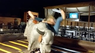 How NOT to Ride a Mechanical Bull! Super Fail! | Today's Tid Bit!