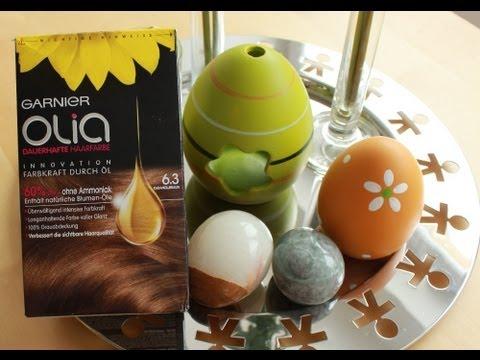Garnier Olia - Der Produkttest :o) Vom Unboxing bis zur neuen Haarfarbe /Inlovewithcosmetics