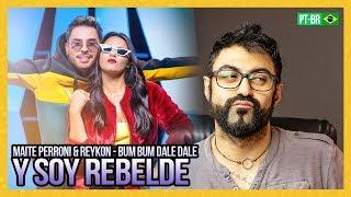 REAGINDO A Maite Perroni & Reykon   Bum Bum Dale Dale (Video Oficial)