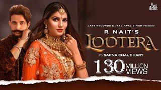 Lootera | (Full HD) | R Nait Ft.Sapna Chaudhary | Afsana Khan | B2gether | New Songs | Jass Records