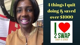 4 things I quit doing & saved over $1000