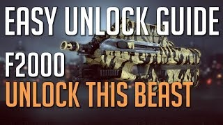 BF4 How to unlock the F2000 - Express Train Assignment - Second Assault Weapon - Battlefield 4