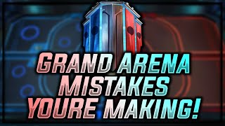 GAC Mistakes YOU'RE Making! DON'T DO THIS! | Star Wars: Galaxy of Heroes