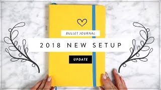 2018 BULLET JOURNAL SETUP & Flip Through   Miss Louie