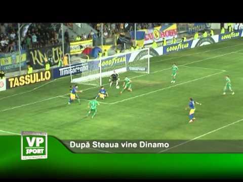 Dupa Steaua vine Dinamo