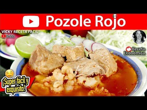 Receta Del Tradicional Pozole Rojo De México
