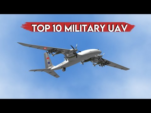 TOP 10 Military Drone UAV UAS