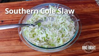 Southern Cole Slaw Recipe | HowToBBQRight