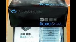 Aqua Genesis RoboSnail Unboxing